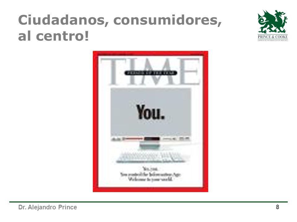 Dr. Alejandro Prince Ciudadanos, consumidores, al centro! 8