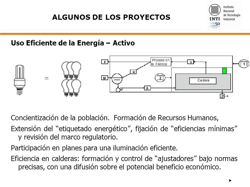 Concientizaci ó n de la poblaci ó n. Formaci ó n de Recursos Humanos, Extensi ó n del etiquetado energ é tico, fijaci ó n de eficiencias m í nimas y r