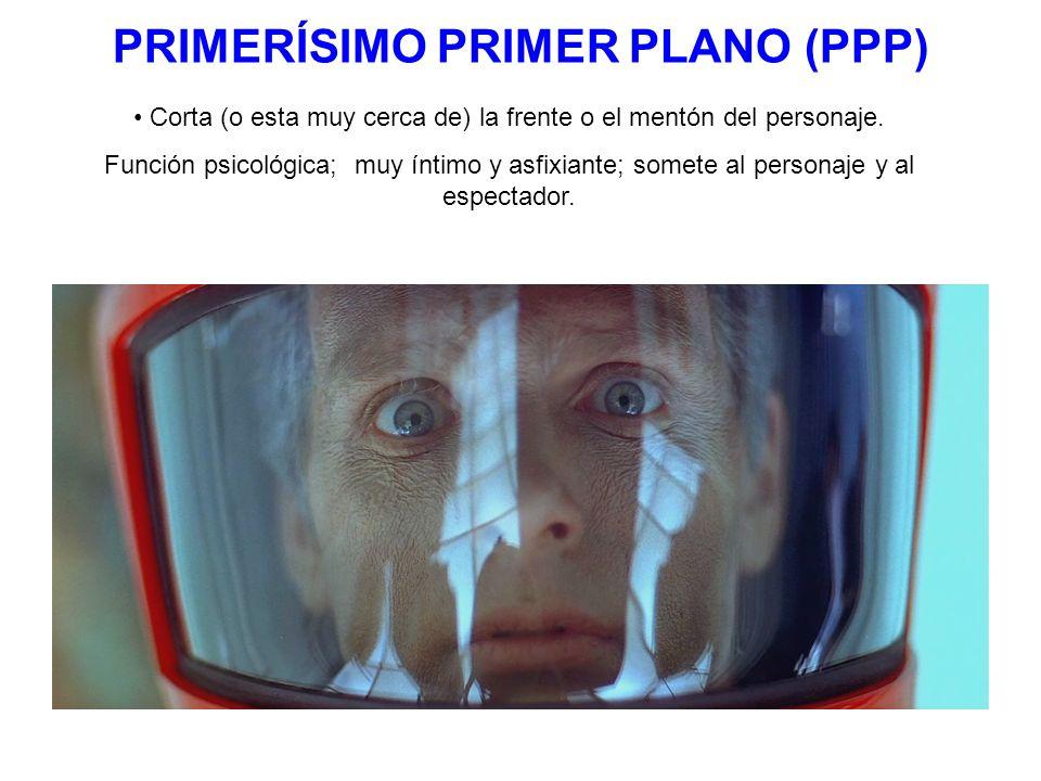 PLANO AMERICANO (PA) Los límites inferior y superior de la pantalla coinciden con la cabeza y las rodillas de la persona.