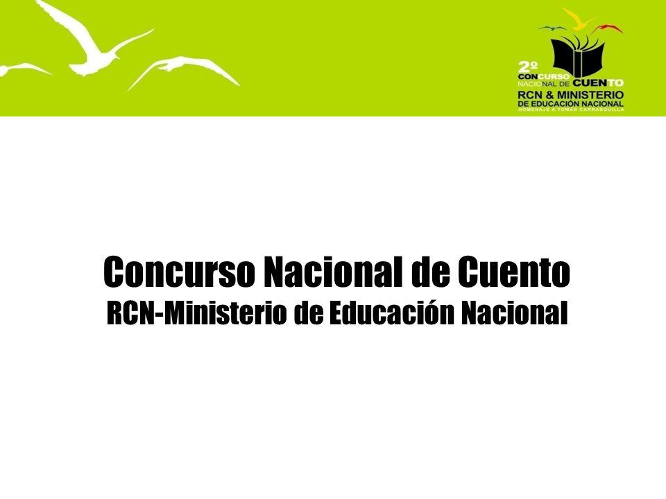 Concurso Nacional de Cuento RCN-Ministerio de Educación Nacional