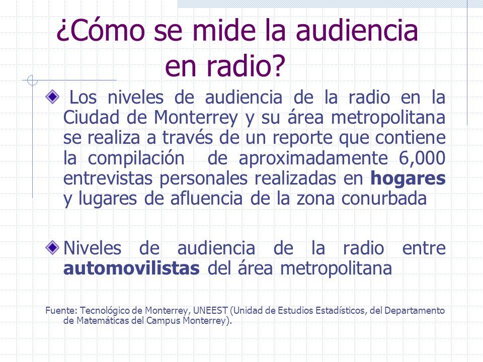 Objetivos La medición de la audiencia en tv, radio e internet es una herramienta indispensable para la mercadotecnia moderna, la publicidad y la progr