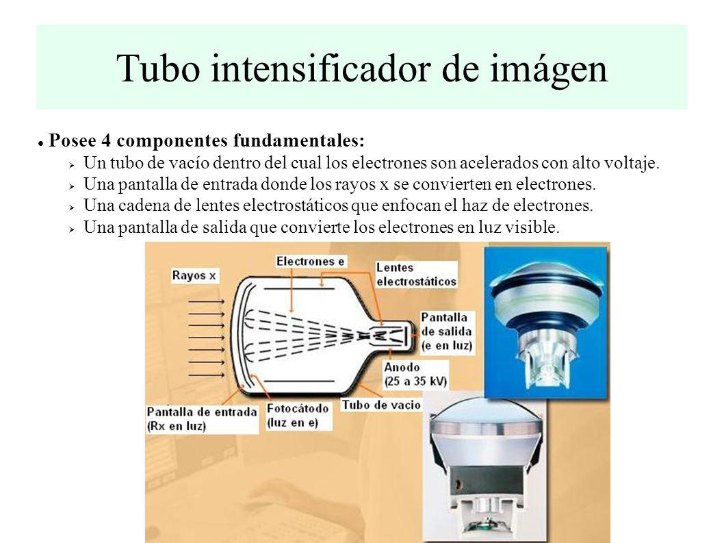 Posee 4 componentes fundamentales: Un tubo de vacío dentro del cual los electrones son acelerados con alto voltaje.
