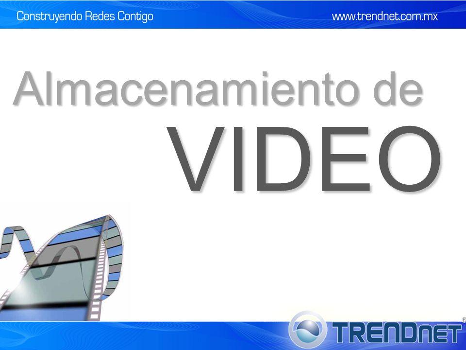 VIDEO Almacenamiento de