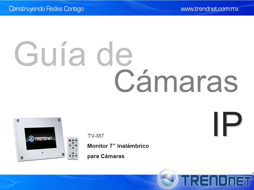 IP Cámaras Guía de TV-M7 Monitor 7 Inalámbrico para Cámaras