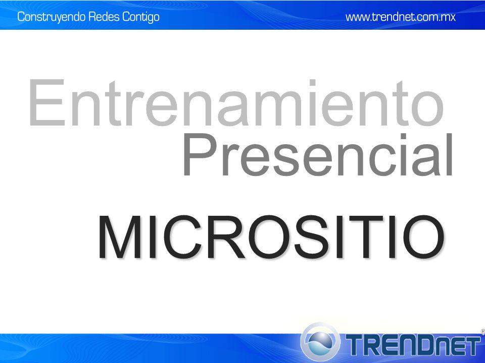 MICROSITIO Presencial Entrenamiento