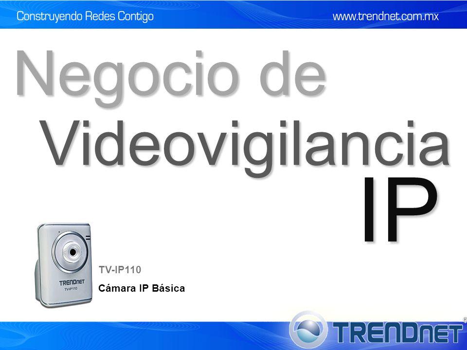 Videovigilancia IP Negocio de TV-IP110 Cámara IP Básica