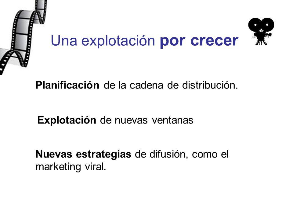Una explotación por crecer Planificación de la cadena de distribución.