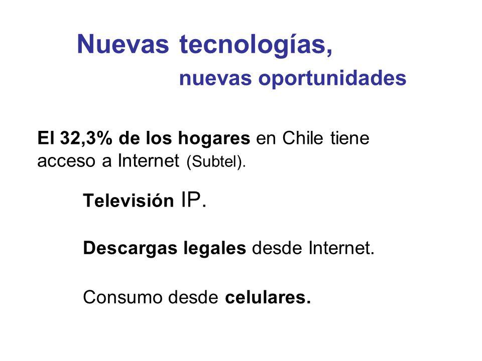 Nuevas tecnologías, nuevas oportunidades Televisión IP.