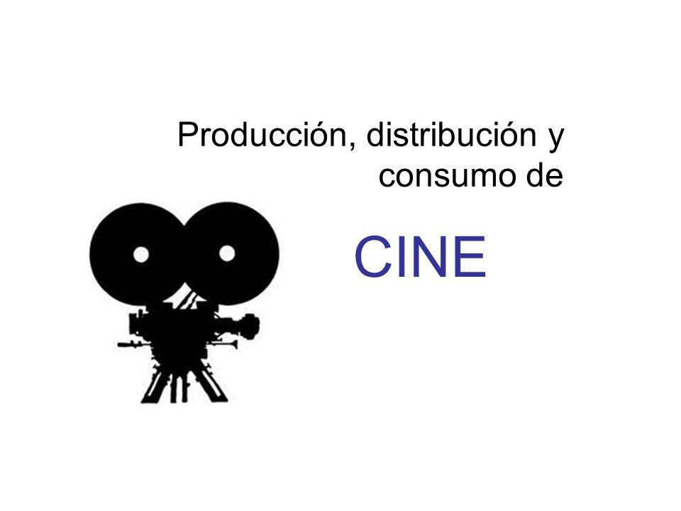 Producción, distribución y consumo de CINE