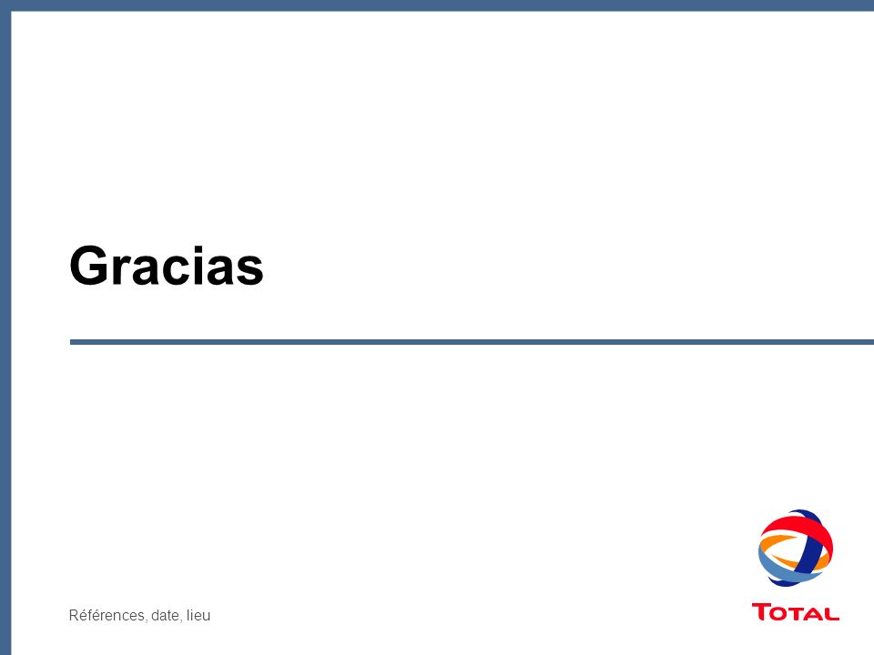 Références, date, lieu Gracias
