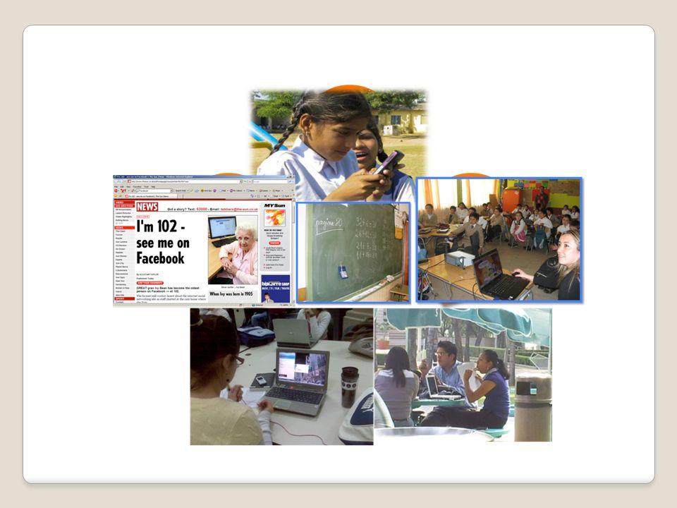 Modelos emergentes: viviendo y aprendiendo con los nuevos medios Parten de la observación y estudios cualitativos (etnografía y etnometodología virtual) de las interacciones sociales de los Jóvenes usuarios/prosumidores (actores principales) dentro de su entorno tecnológico Educación, relación dialéctica entre lo formal y lo informal (pares, autodicacta y por ensayo-error, aprendizaje colaborativo e interactivo entre diferentes actores) Actores: academia, generaciones (puente),profesores, padres, el estado, el mercado, el consumo, prácticas sociales de socialidad Convergencia tecnológica de los nuevos medios Trabajo en equipo