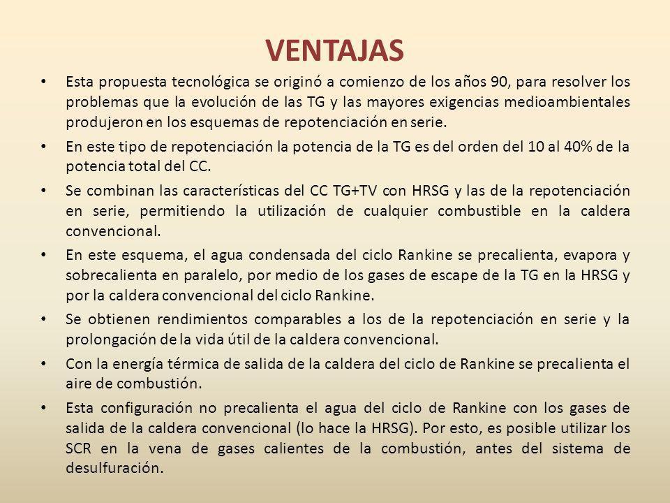 VENTAJAS Esta propuesta tecnológica se originó a comienzo de los años 90, para resolver los problemas que la evolución de las TG y las mayores exigenc