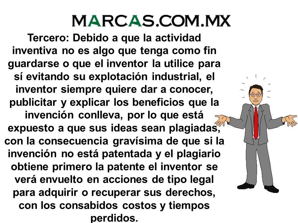 Segundo: Si la patente tiene buen éxito comercial o industrial, el inventor se beneficia con la o las licencias de explotación que decida otorgar a te
