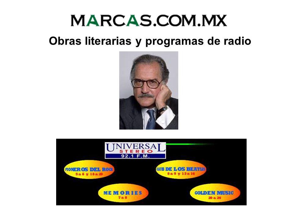 DERECHOS DE AUTOR Registros Obras literarias y programas de radio Obras musicales (con o sin letra) Obras plásticas (pintura, escultura, etc.) Obras d