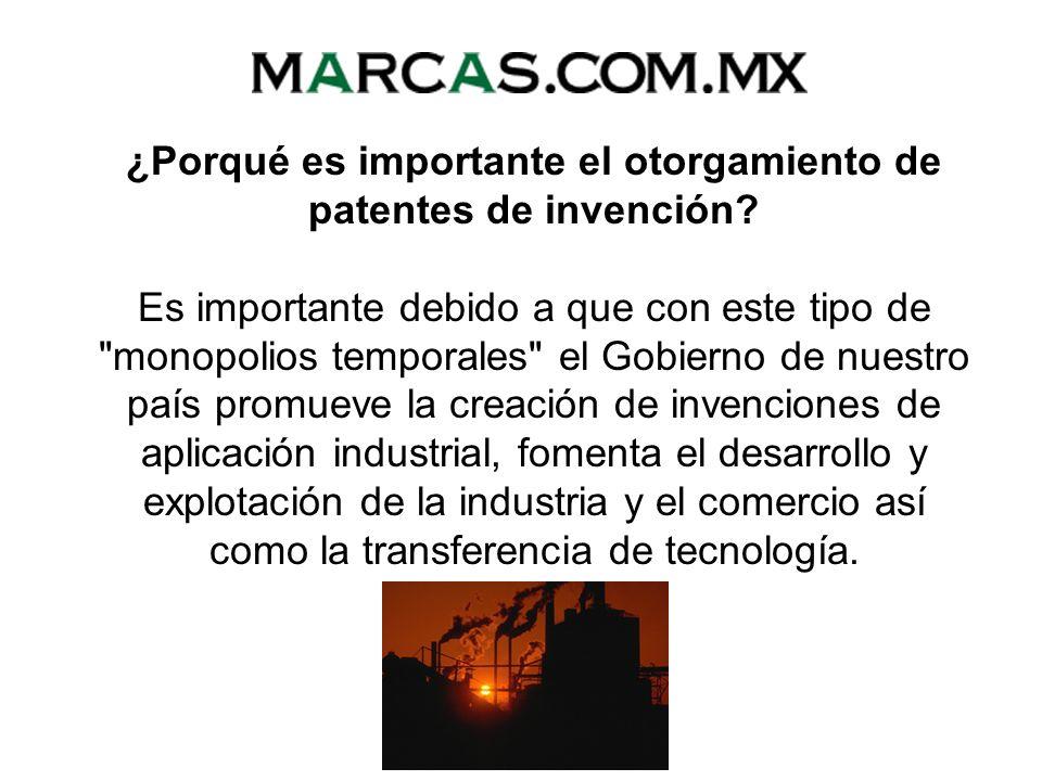 ¿Qué organismo gubernamental es el encargado de otorgar patentes? El Instituto Mexicano de la Propiedad Industrial (IMPI), es el Organismo Público Des