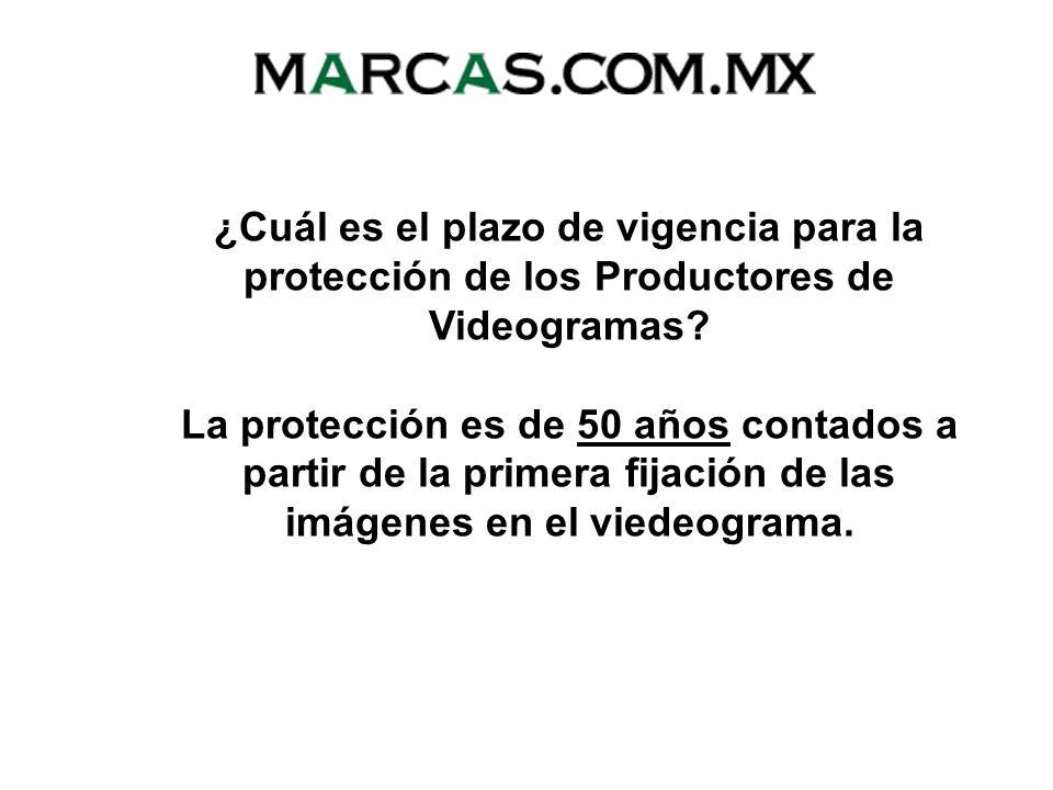 Productores de Videogramas