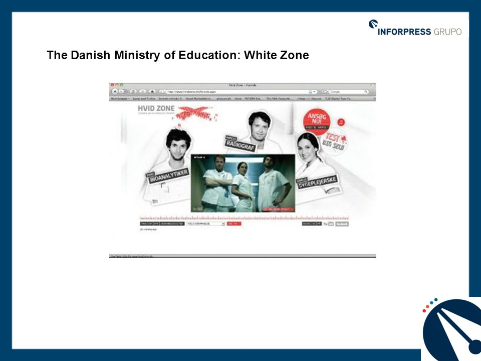 The Danish Ministry of Education: White Zone