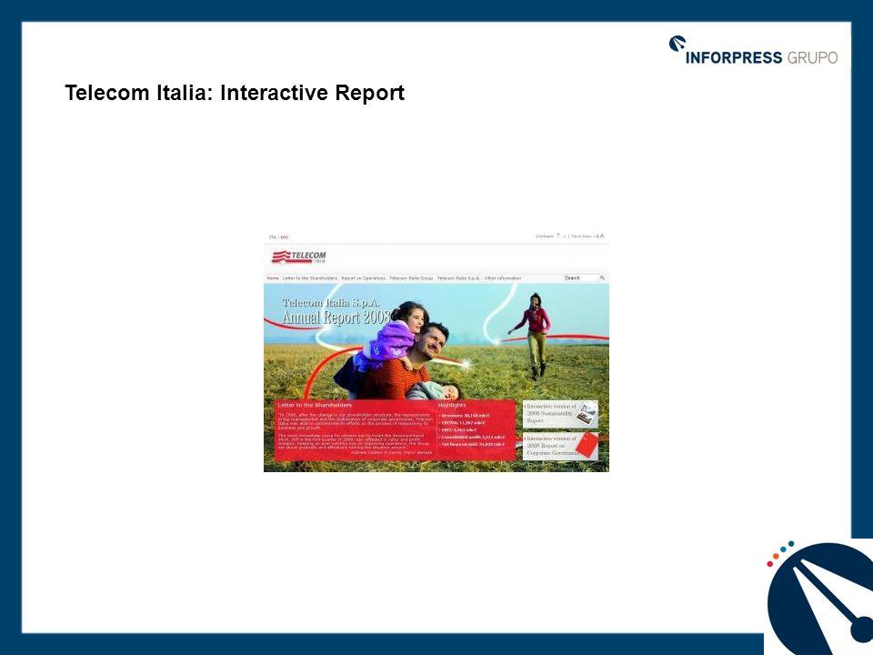 Telecom Italia: Interactive Report