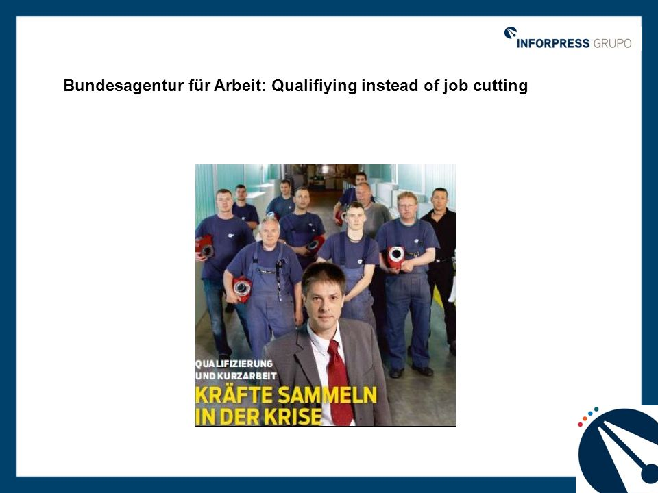 Bundesagentur für Arbeit: Qualifiying instead of job cutting
