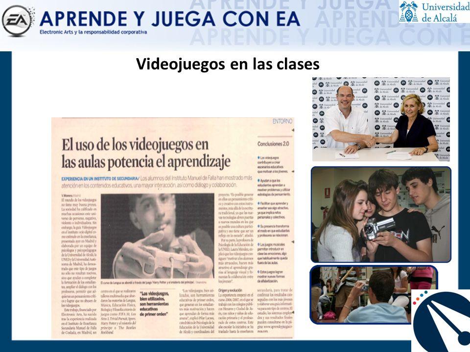 Videojuegos en las clases