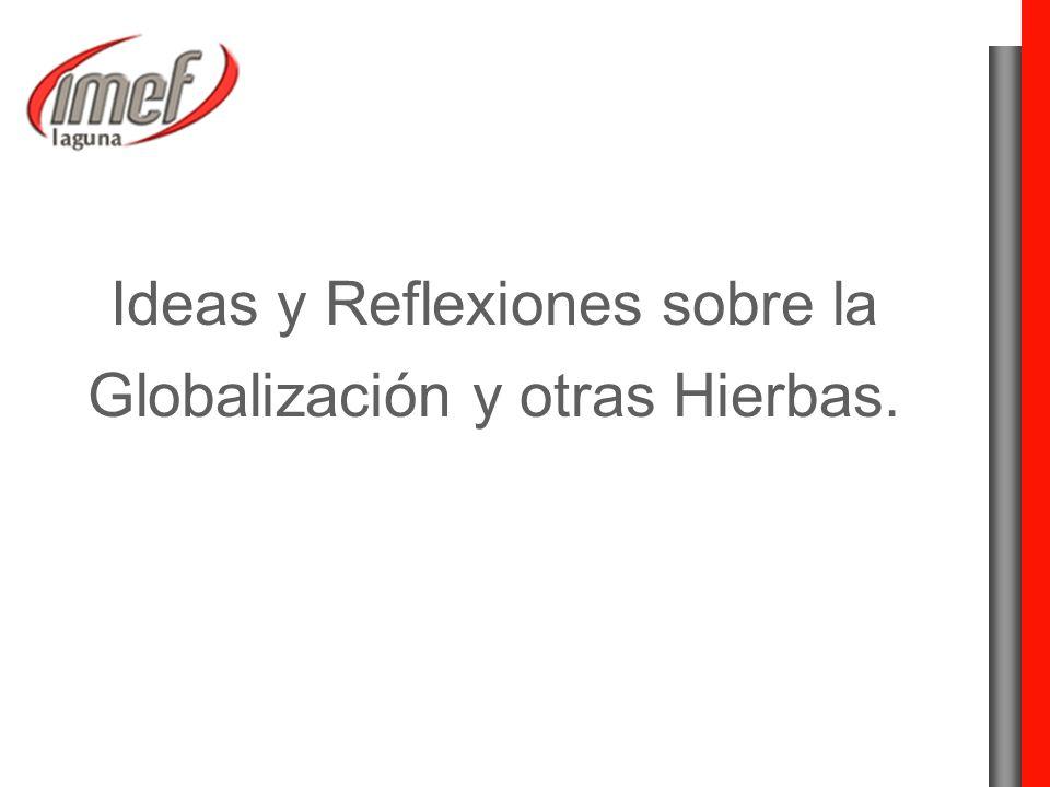 Ideas y Reflexiones sobre la Globalización y otras Hierbas.