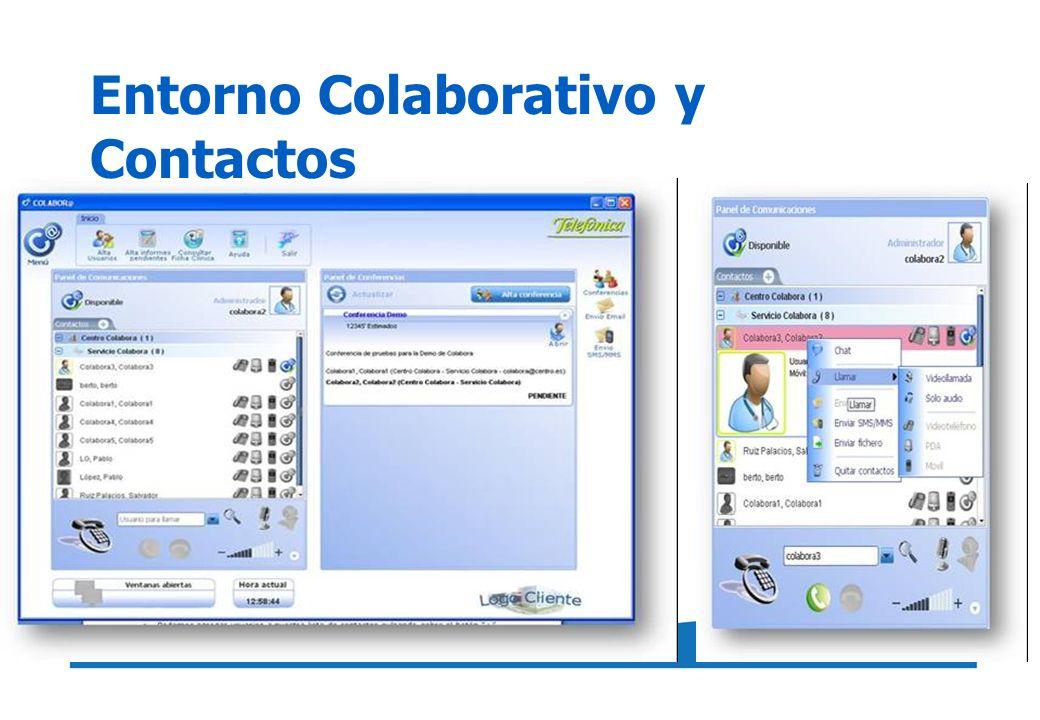 Entorno Colaborativo y Contactos