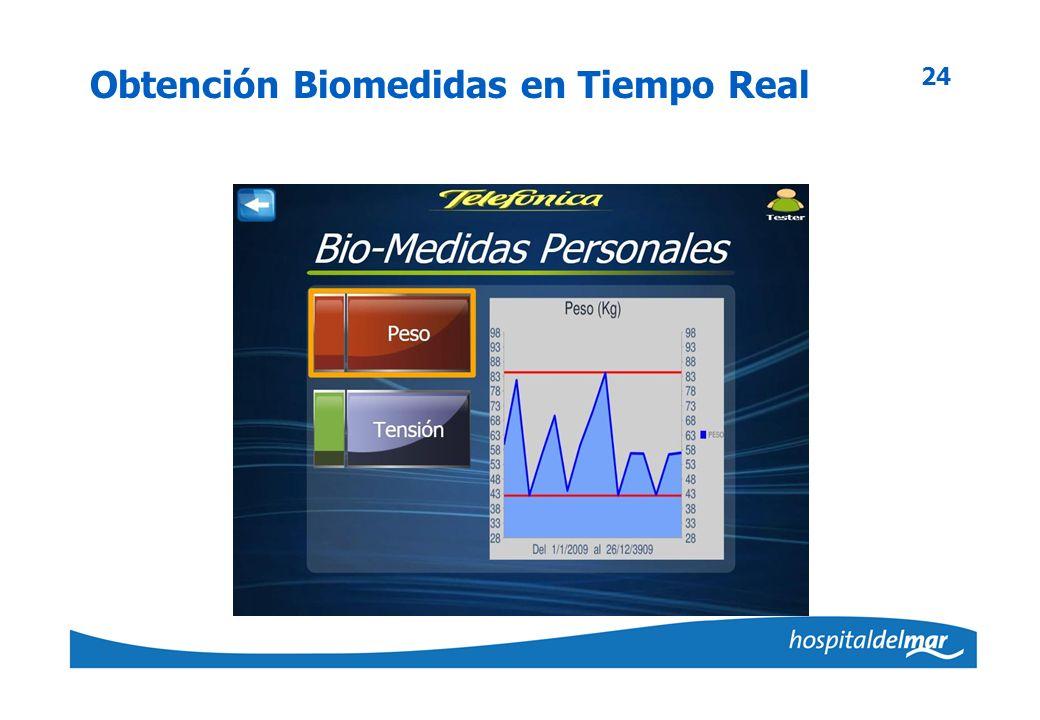 Obtención Biomedidas en Tiempo Real 24