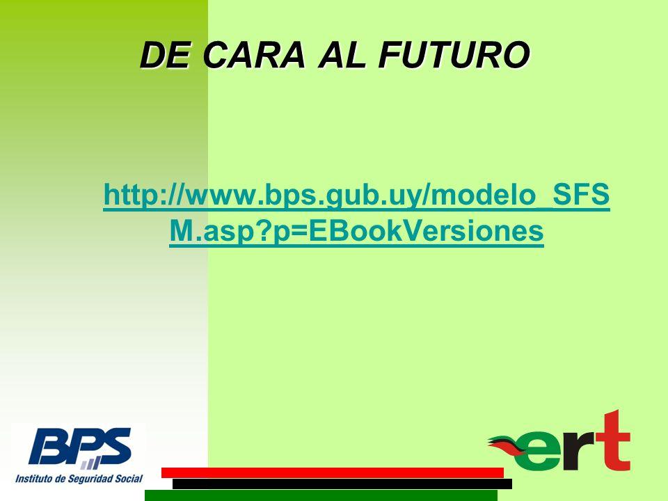 http://www.bps.gub.uy/modelo_SFS M.asp p=EBookVersiones DE CARA AL FUTURO