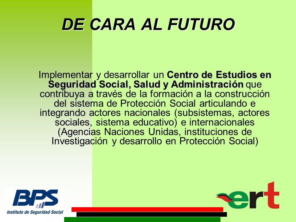 LA EXPERIENCIA DEL INSTITUTO DE SEGURIDAD SOCIAL DEL URUGUAY (BPS )