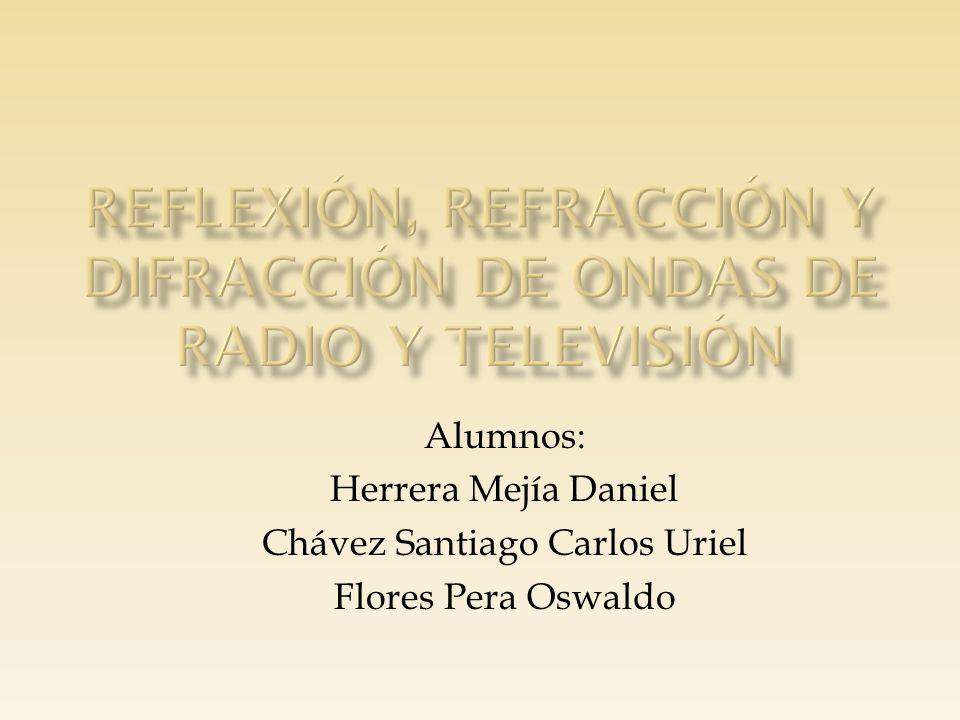 Alumnos: Herrera Mejía Daniel Chávez Santiago Carlos Uriel Flores Pera Oswaldo
