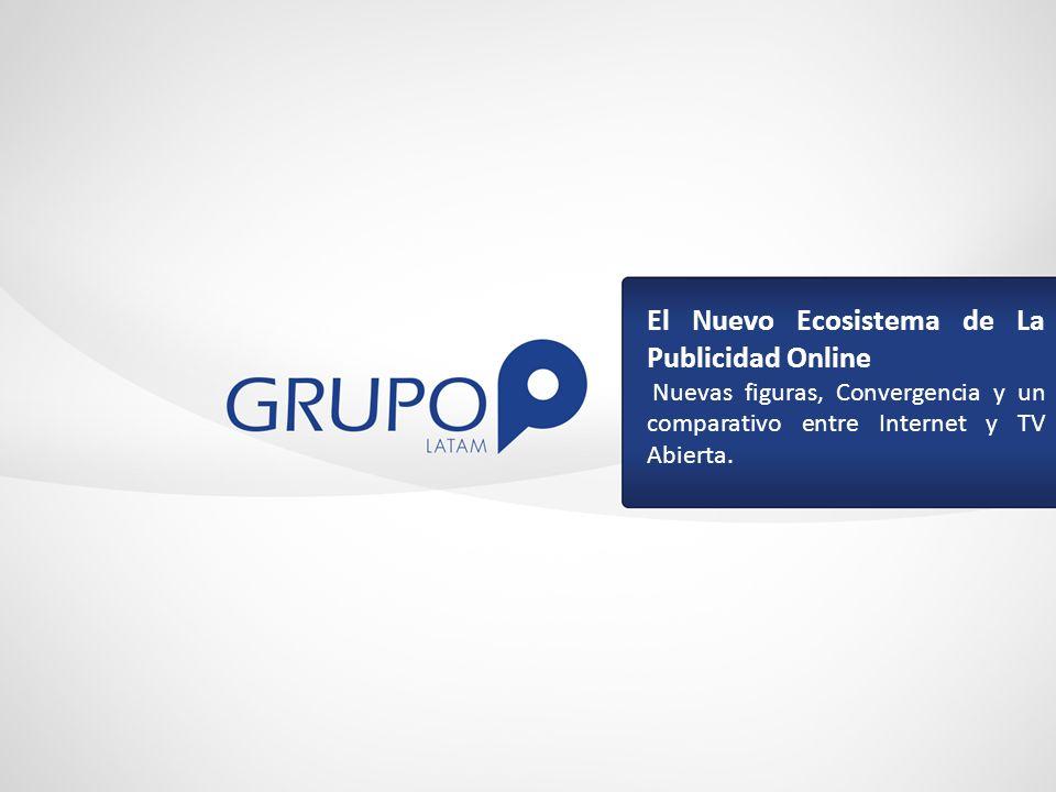 El Nuevo Ecosistema de La Publicidad Online Nuevas figuras, Convergencia y un comparativo entre Internet y TV Abierta.