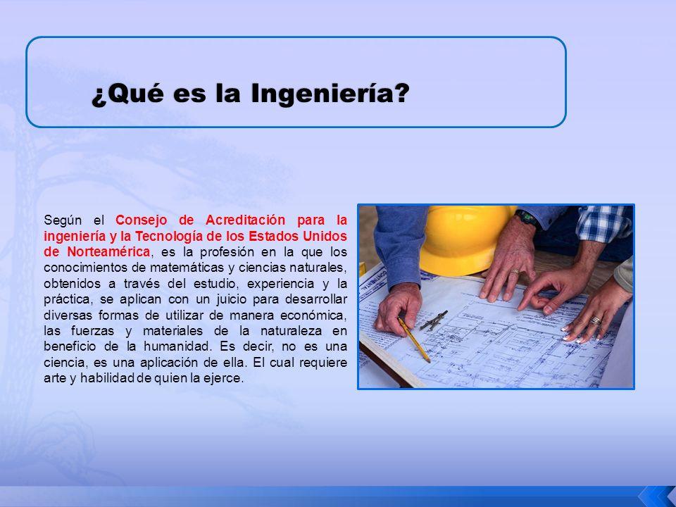 ¿Qué es la Ingeniería.