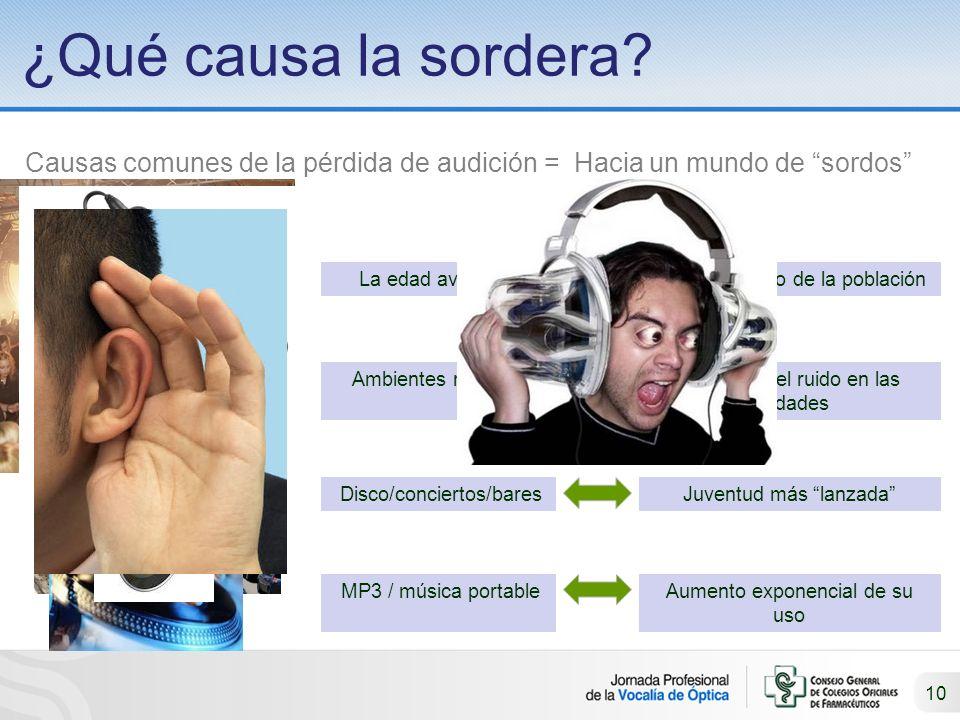 10 ¿Qué causa la sordera.