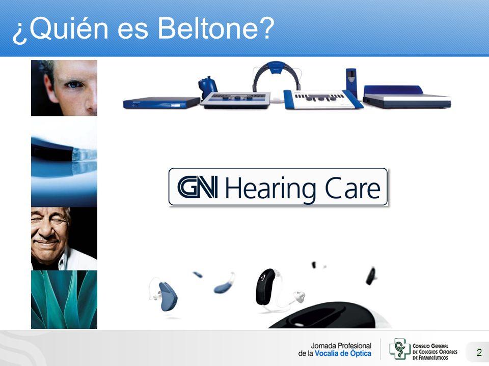 2 ¿Quién es Beltone?