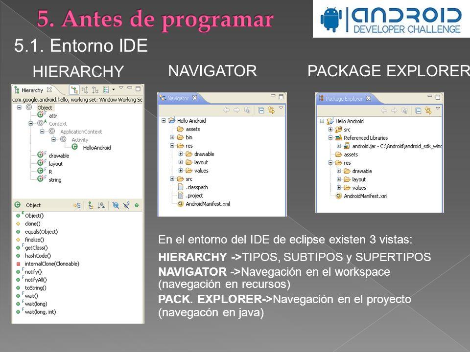PACKAGE EXPLORER 5.1.