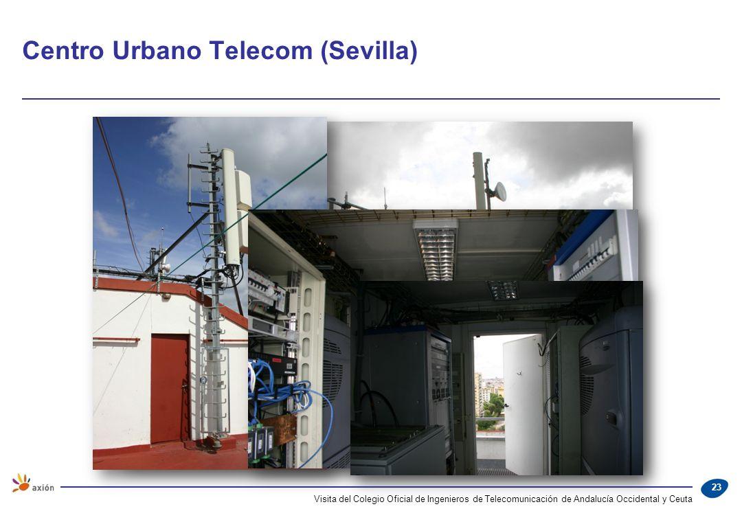 Centro Urbano Telecom (Sevilla) Visita del Colegio Oficial de Ingenieros de Telecomunicación de Andalucía Occidental y Ceuta 23