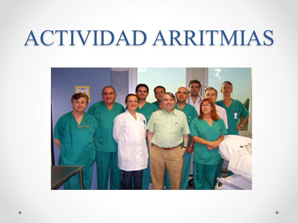 ACTIVIDAD ARRITMIAS