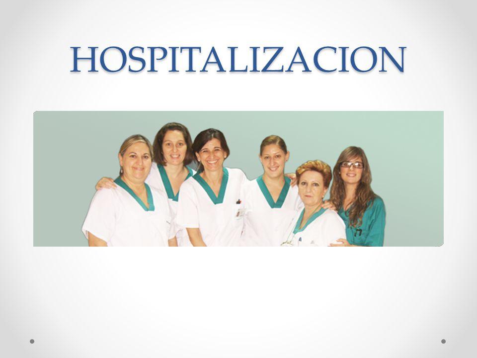HOSPITALIZACION