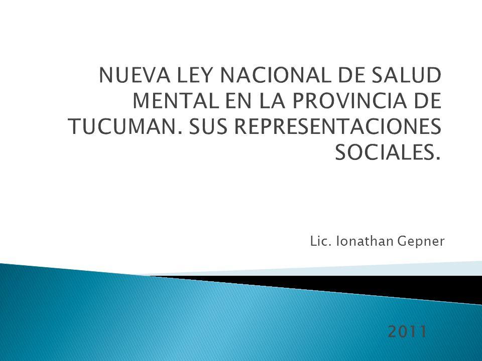 Lic. Ionathan Gepner 2011