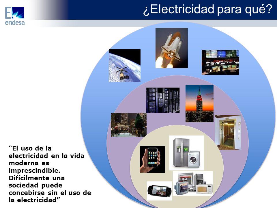 ¿Electricidad para qué.El uso de la electricidad en la vida moderna es imprescindible.