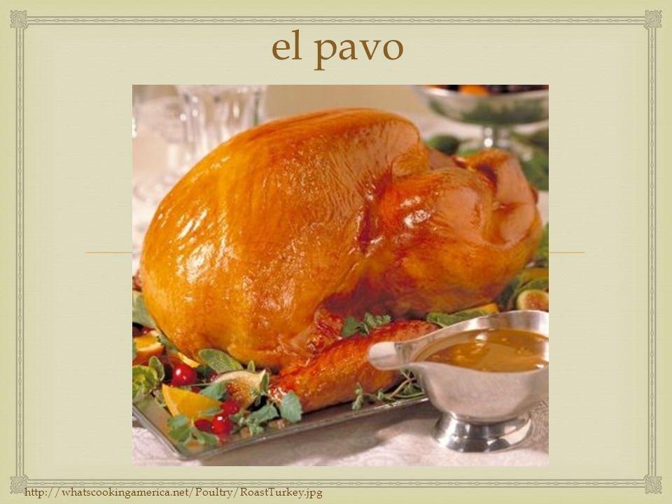 el pavo http://whatscookingamerica.net/Poultry/RoastTurkey.jpg