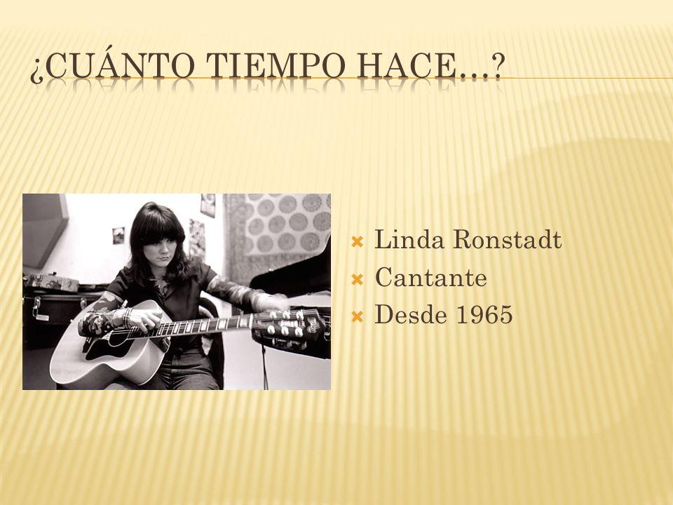 Linda Ronstadt Cantante Desde 1965