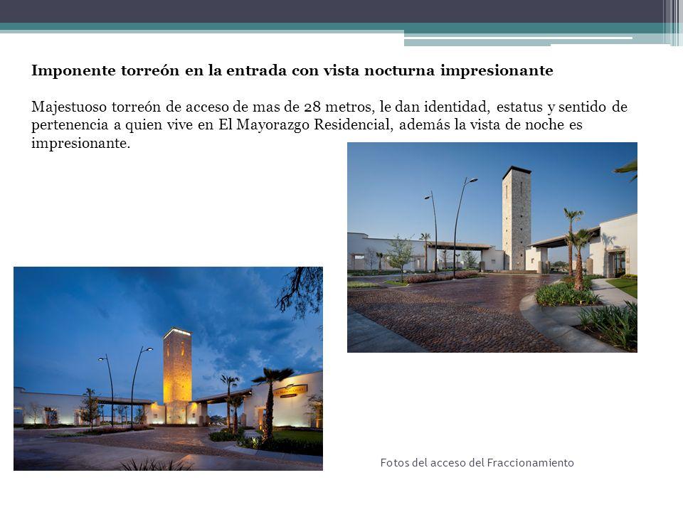 Fotos del acceso del Fraccionamiento Calidad en el diseño y construcción El diseño urbano del fraccionamiento y las casas fueron conceptualizadas por el reconocido arquitecto Humberto Artigas.