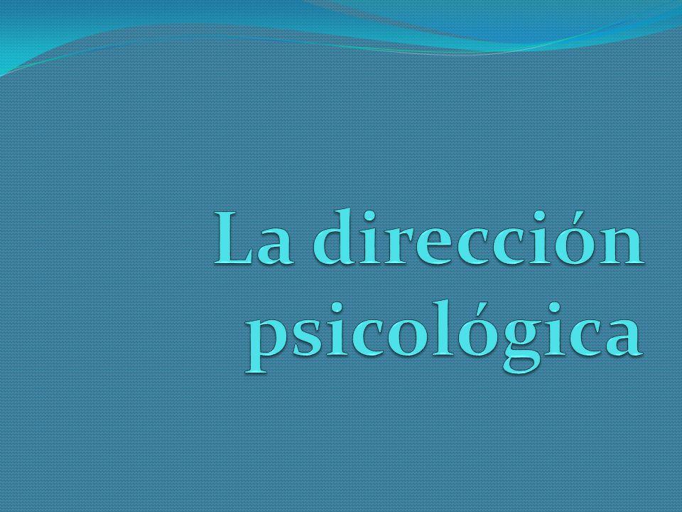 Es una teoría psicológica ideada por Alfred Adler.