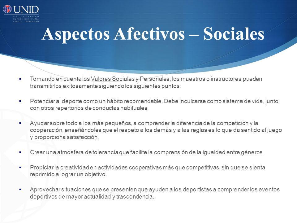 Tomando en cuenta los Valores Sociales y Personales, los maestros o instructores pueden transmitirlos exitosamente siguiendo los siguientes puntos: Po