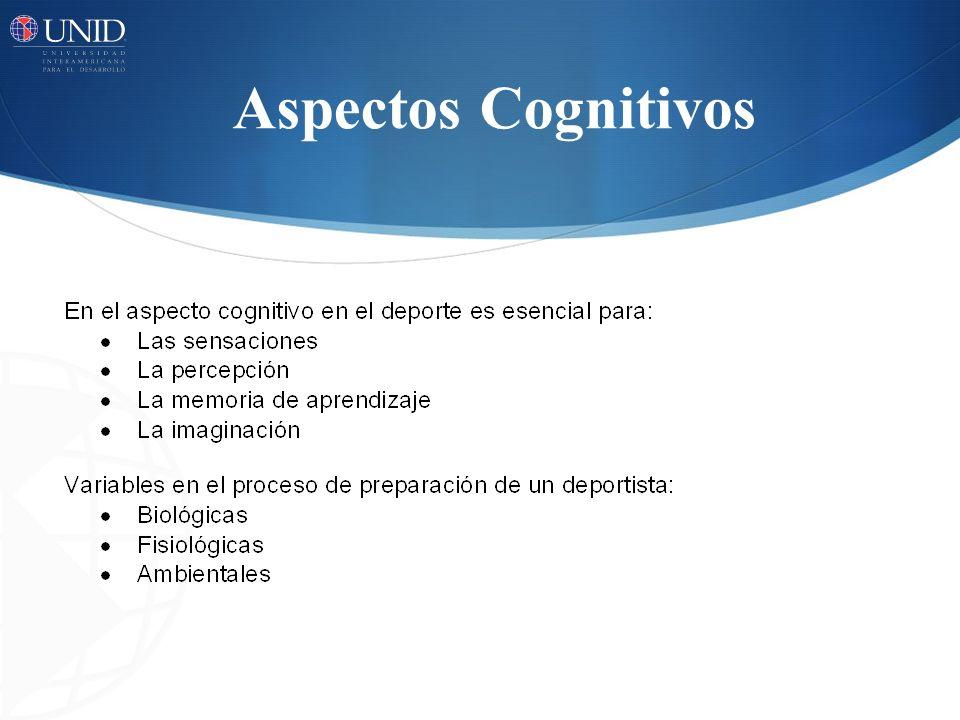 Aspectos Cognitivos