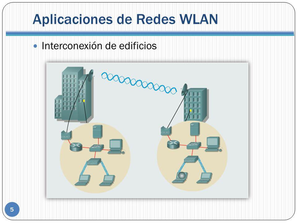 Aplicaciones de Redes WLAN Interconexión de edificios 5