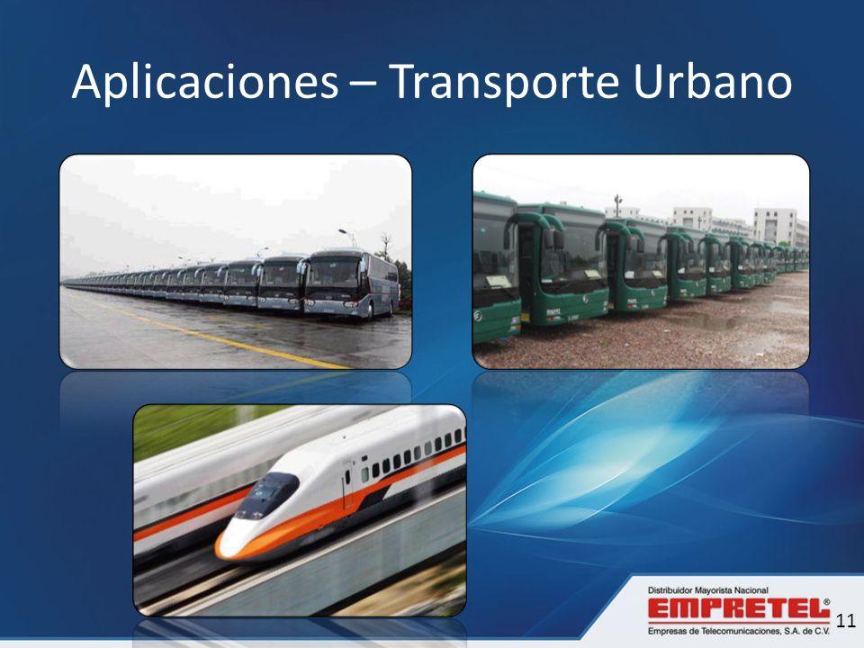 Aplicaciones – Transporte Urbano 11