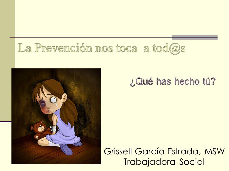 Grissell García Estrada, MSW Trabajadora Social