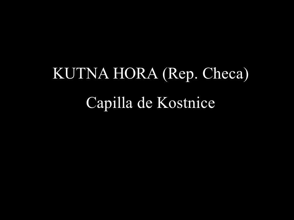 KUTNA HORA (Rep. Checa) Capilla de Kostnice